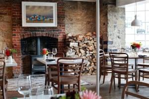 Brassica restaurant, Beaminster, Dorset.