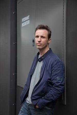 Australian author Markus Zusak