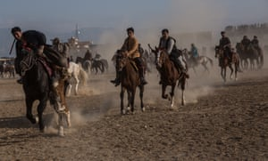 Nowruz also marks the end of the Buzkashi season, one of Afghanistan's national sports
