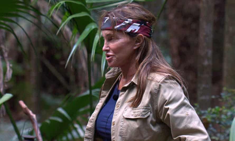 Jungle contestant Caitlyn Jenner
