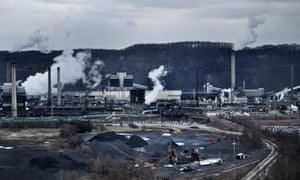 The Clairton steelworks in Pennsylvania. EPA administrator Andrew Wheeler said the new rule 'shows President Trump's commitment to advancing American energy independence and protecting the environment'.