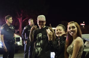 Young New Mexicans pulled over during the traffic stop. They were later released after their vehicle was searched.