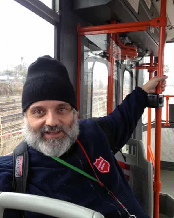 Robert Pochop is a guide for the Czech social enterprise Pragulic