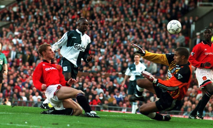 9dd4559b51e Manchester United 2-2 Liverpool: the Class of 92, Spice Boys and Cantona's  return | Football | The Guardian