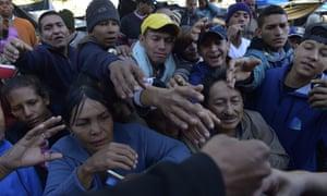 More than half a million Venezuelans have sought refuge in Ecuador to escape crime and political violence.
