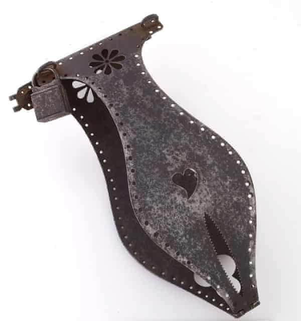Iron chastity belt Wellcome Collection