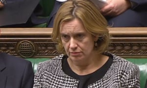 Home secretary Amber Rudd, who criticised Home Office staff.
