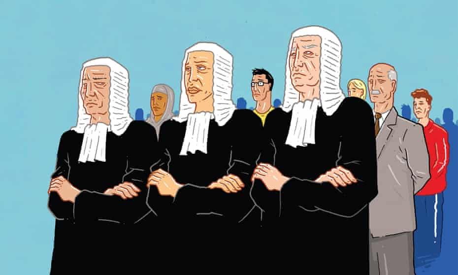Jasper Rietman illustration of judges