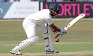 Cheteshwar Pujara made 23 on the final day and may well make the India team to face England in the first Test at Edgbaston.
