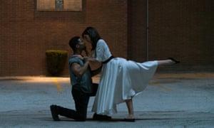 Strike a pose: Paul James as Sam and Callie Hernandez as Nellie.