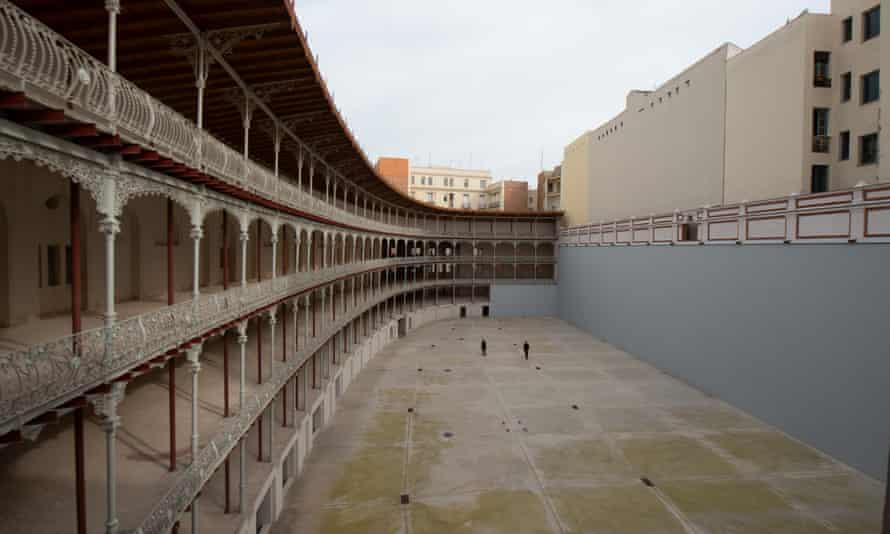 Basque Fronton court Madrid Beti Jai Fronton Madrid