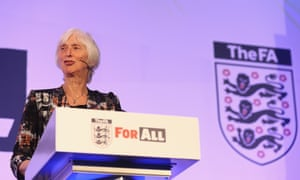 Baroness Sue Campbell said the FA is determined to get more women playing football, coaching and refereeing.
