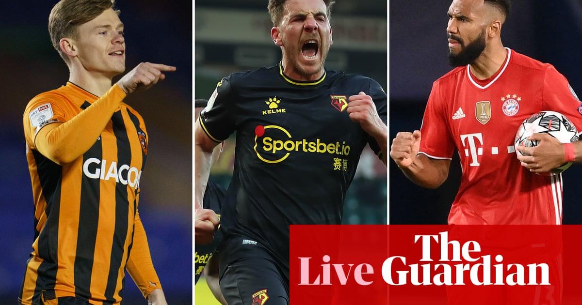 Watford v Millwall, Football League, Bundesliga and more: clockwatch – live!