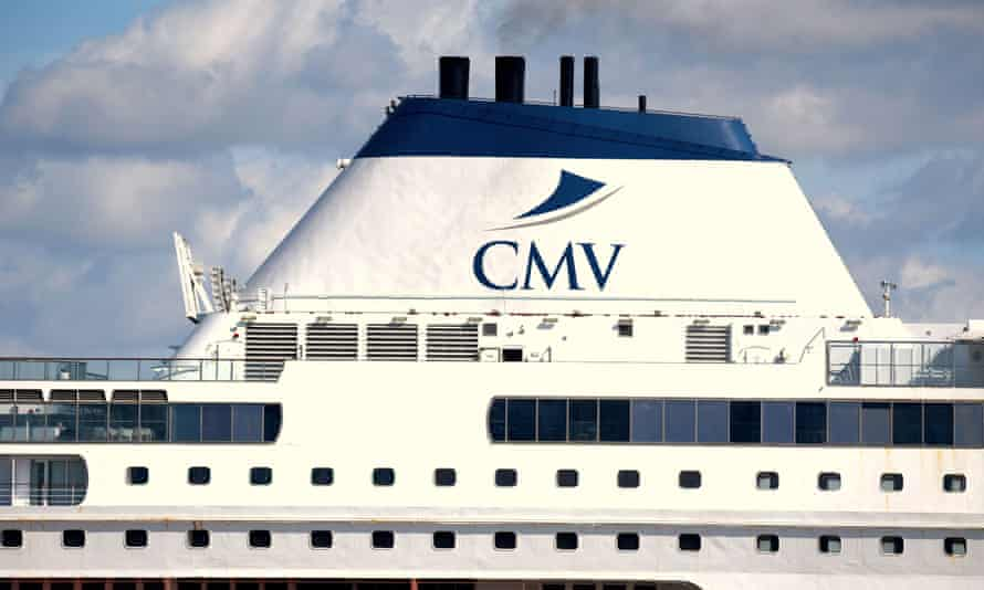 Booked on a CMV cruise ship until the company went into administration.