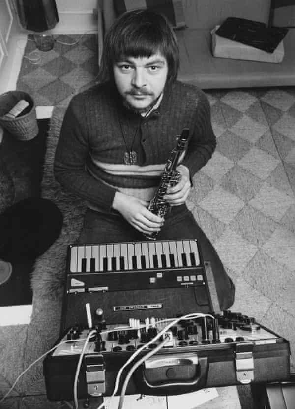 John Surman in 1973.
