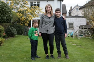 Helen Parker, pictured with her sons Elliot and Leon, lost her husband Philippe last year. If he had died 12 months later, she would have lost out on up to £74,000.