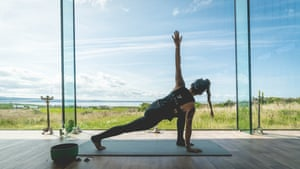Take a deep twist in a yoga studio that overlooks the Atlantic at the Cliffs of Moher Retreat.