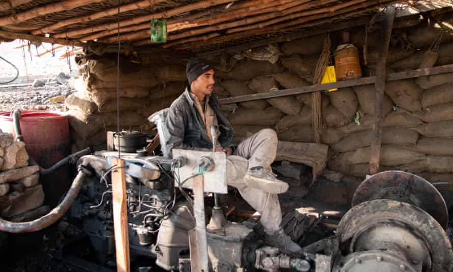 Luqman Shakir is a 24-year-old from Swat. He has been a miner for nine years.