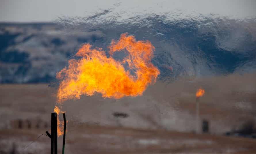 Bakken oil fields