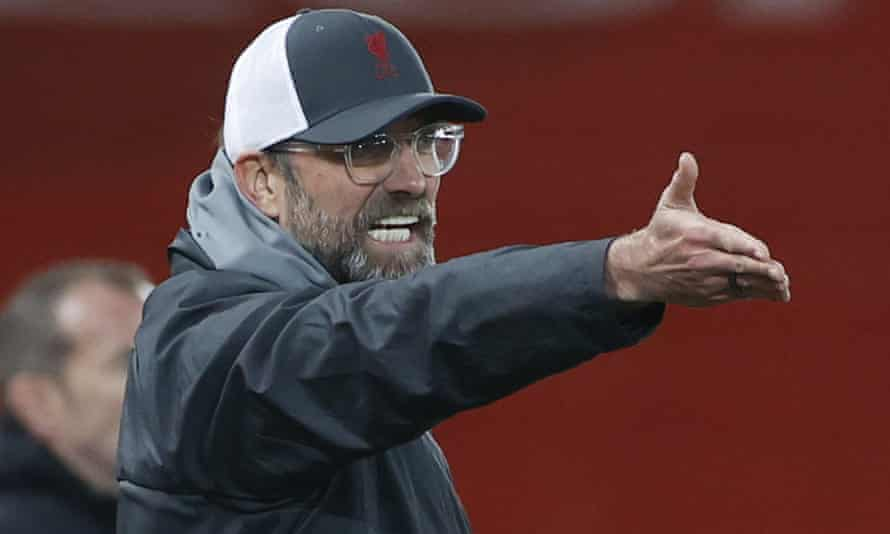 Jürgen Klopp's side are due to face Leipzig on 16 February
