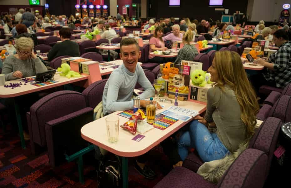 Romford Mecca at the Mall Bingo night
