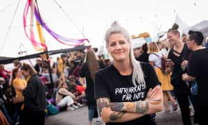 Statement festival founder, comedian and TV host Emma Knyckare.