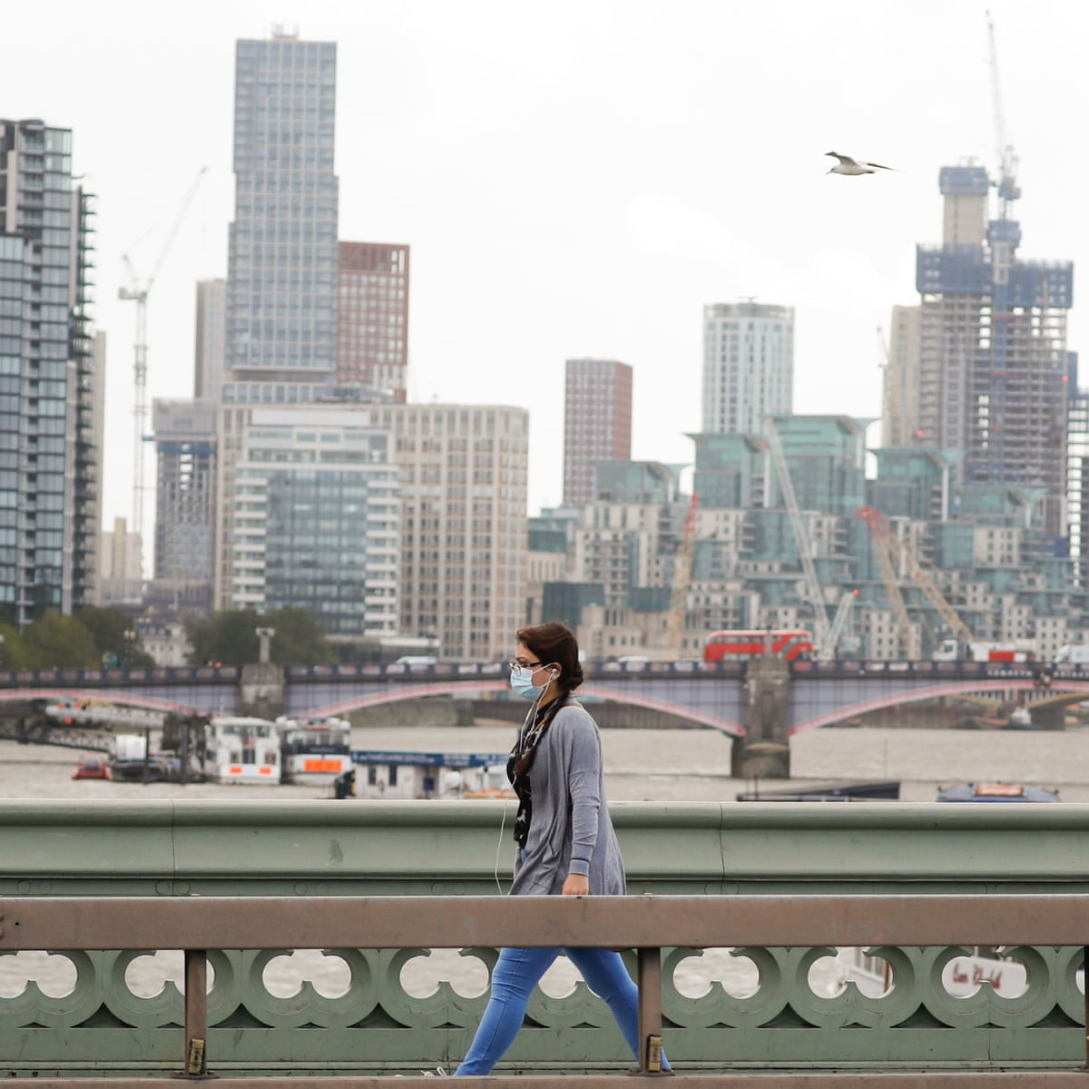 Uk Economic Recovery Slowed To 2 1 In August As It Happened Business The Guardian