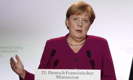 Brexit: Angela Merkel says negotiations reach 'final sprint' phase – live news