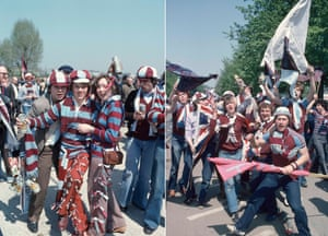 With their team well outside the promotion spots with just one game to go, the FA Cup final was a chance for the second division side to finish the season on a high and their fans at Wembley were certainly up for the cup