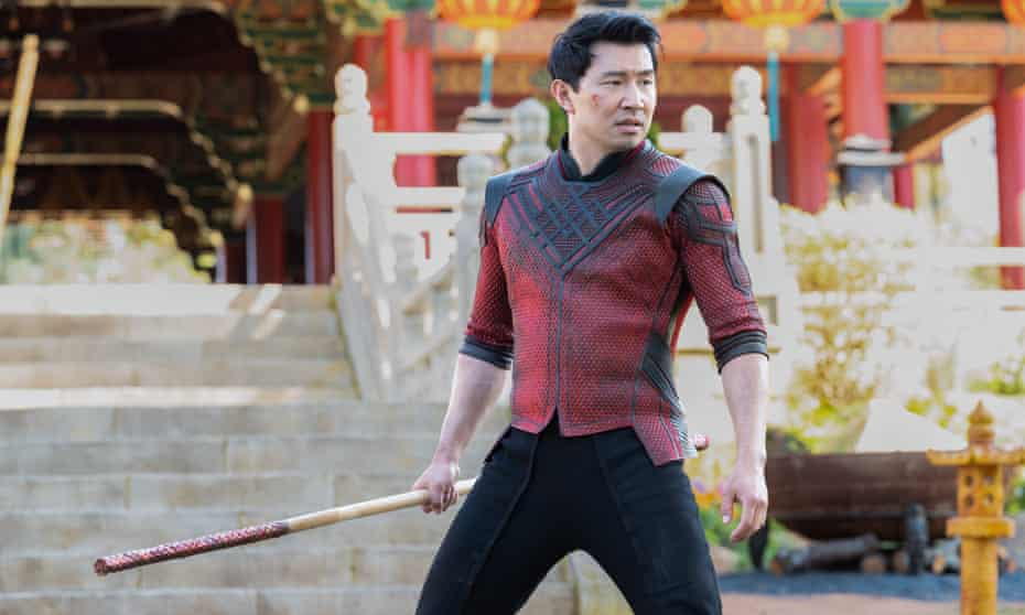 Ironic quirks ... Simu Liu as Shang-Chi in Shang-Chi and the Legend of the Ten Rings.