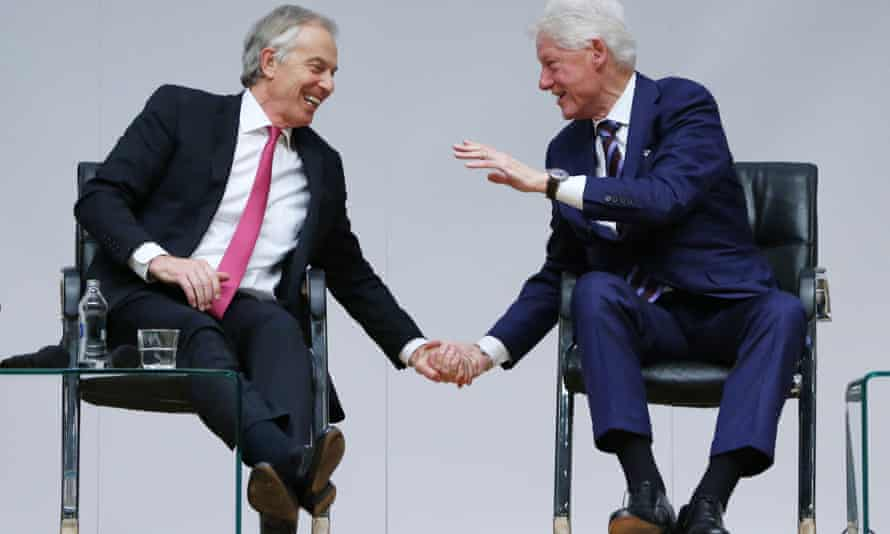 Tony Blair and Bill Clinton couldn't beat the super-rich, so joined them.