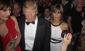 Donald Trump arrives for the White House Correspondents' Association dinner in 2011. The businessman reportedly felt humiliated by Barack Obama's jokes at his expense.