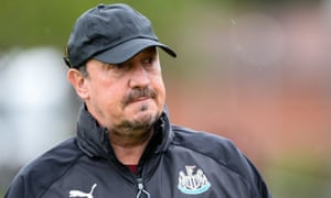 Newcastle United manager Rafael Benítez