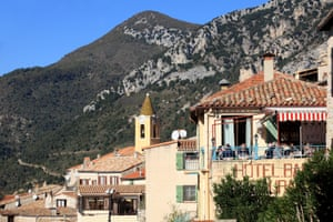 The perched village of Sainte Agnes, French Riviera
