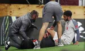 Joe Gomez has been absent from the Liverpool squad since fracturing his lower left leg at Burnely on 5 December.