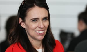 New Zealand prime minister Jacinda Ardern talks to delegates at the annual Labour conference in Whanganui.