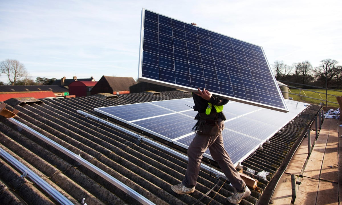 More Than Half Of Jobs In Uk Solar Industry Lost In Wake