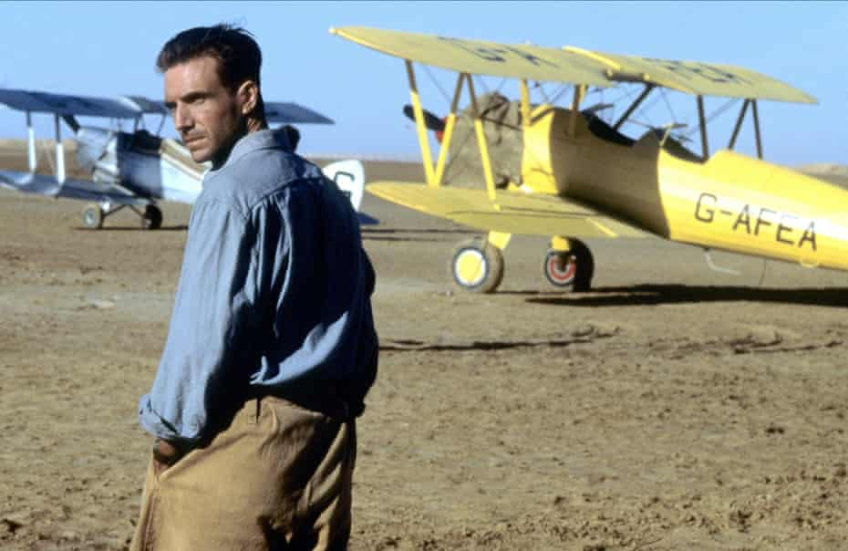 Ralph Fiennes in the 1996 film adapation of The English Patient.