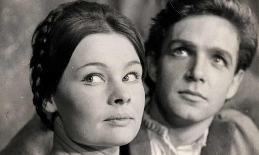 'Here we are, darling, in row H!' … Judi Dench with John Stride in Romeo and Juliet at the Old Vic in 1960.