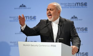 Javad Zarif at the Munich security conference