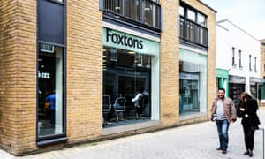 A Foxtons branch in Islington, north London