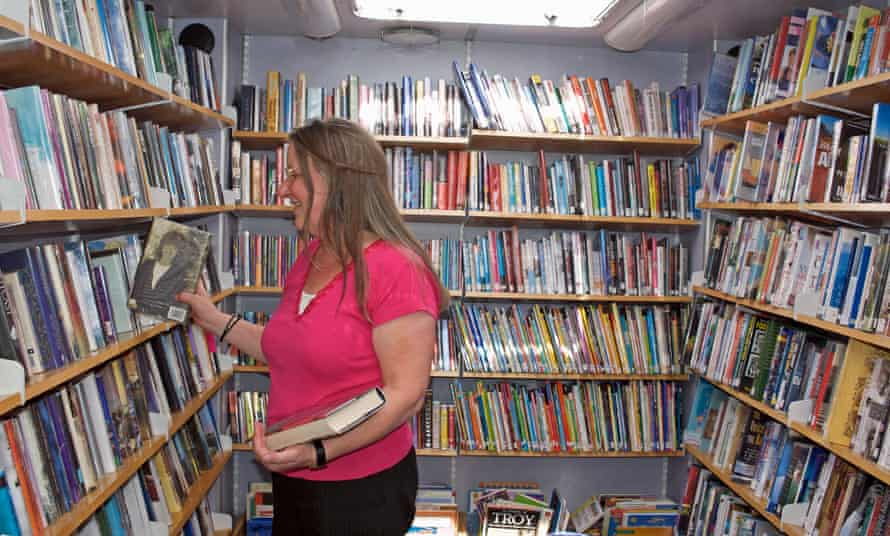 A mobile library in Scotland. What does your library mean to you?