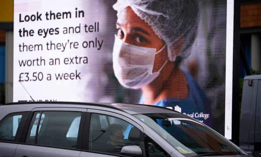 Nursing Union Launches New Ad Campaign On NHS 1% Pay Proposal