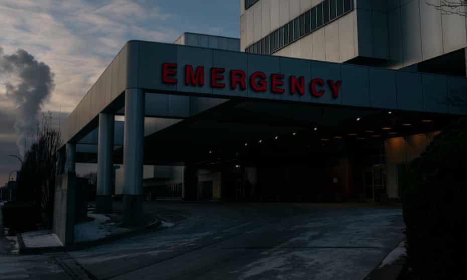 Detroit Medical Center's emergency receiving hospital.