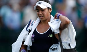 Heather Watson's grass-court season got off to a slow start at the Aegon Open: 'I didn't feel good out there'