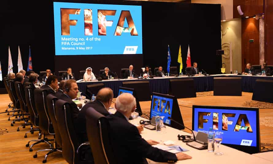 Fifa's ruling council