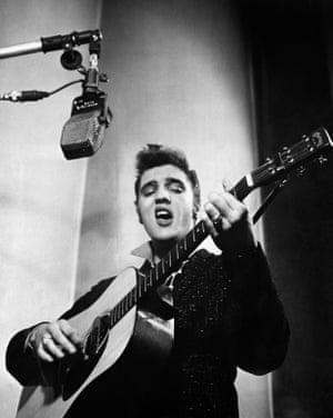 Elvis Presley, January 1956.