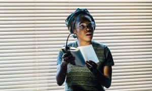 Cherrelle Skeete in A Small Place at the Gate theatre in London.