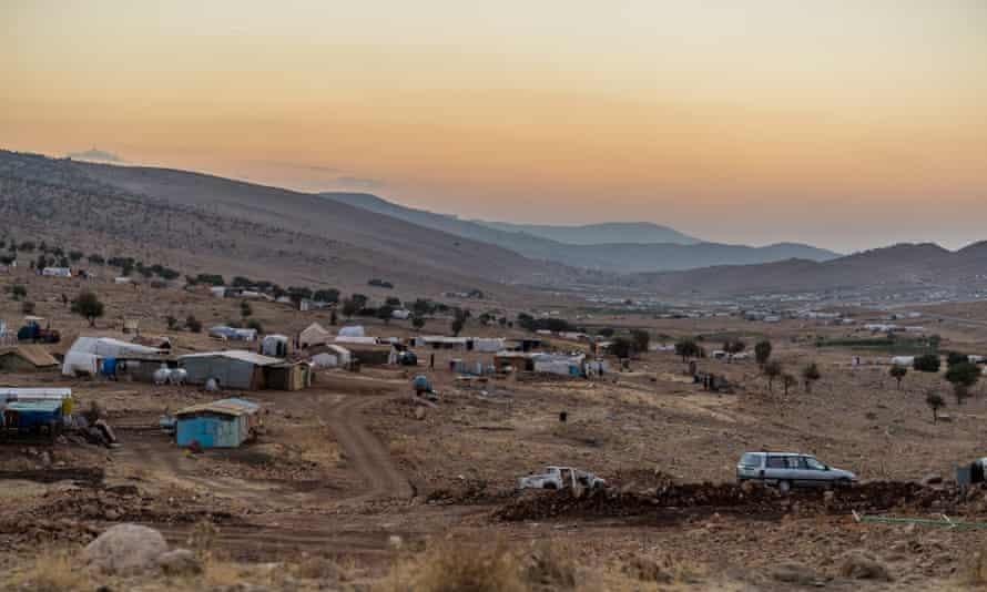 A displaced Yazidis settlement in Sinjar region, Iraq