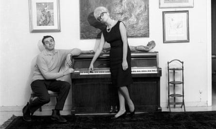 Dario Fo and Franca Rame in 1962